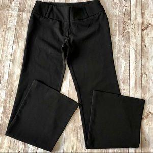 Vintage 90s Forever 21 Black Flared Dress Pants